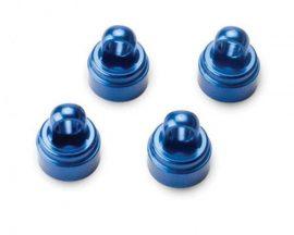 Lengéscsillapító kupak alu kék 4db.