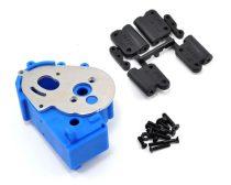 RPM hajtómű ház+motortartó kék