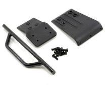 RPM első lökhárító+skid plate fekete