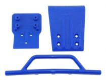 RPM első lökhárító+skid plate kék