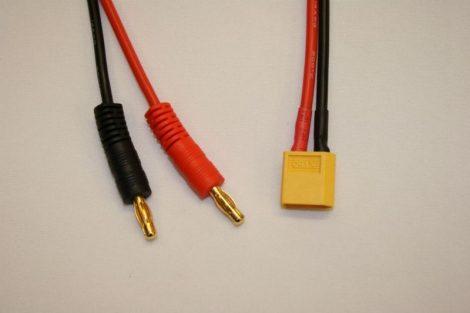 Töltőkábel Xt60-as csatlakozóval