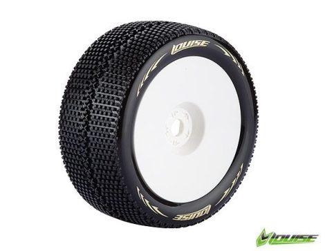 LOUISE T-Turbo soft komplett kerék 0 offset 1/8 Truggy 1pár