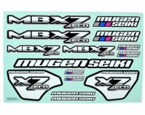 Mugen MBX7 Eco matrica szett