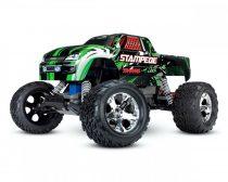 Traxxas Stampede 2WD kefés-zöld -RTR