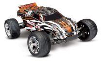 Traxxas Rustler 2WD RTR-narancs