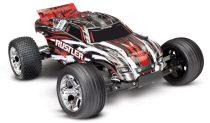 Traxxas Rustler 2WD RTR-piros