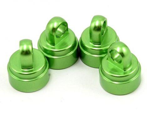Lengéscsillapító kupak alu zöld 4db.