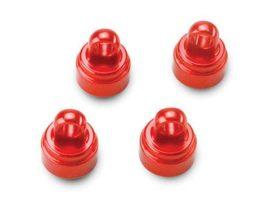 Lengéscsillapító kupak alu piros 4db.