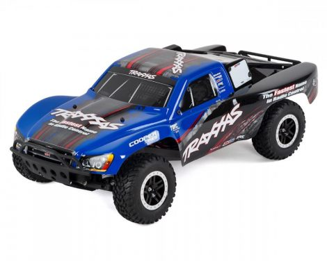 Traxxas Slash 2WD VXL Brushless-kék