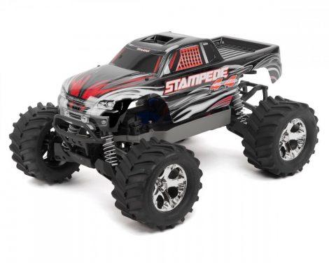 Traxxas Stampede 4x4 kefés motorral-fekete