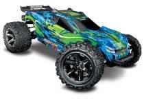 Traxxas Rustler 4x4 VXL Brushless - zöld