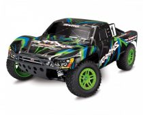 Traxxas Slash 4x4 Kefés motorral - zöld