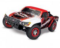 Traxxas Slash 4WD VXL TSM /töltő és akku nélkül/ - piros/fehér