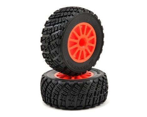 Traxxas Rally komplett kerék 1pár narancs