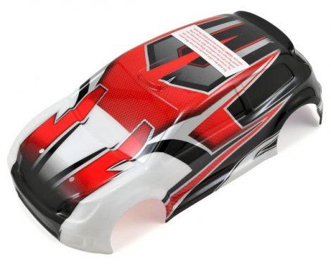 Latrax Rally kaszni piros
