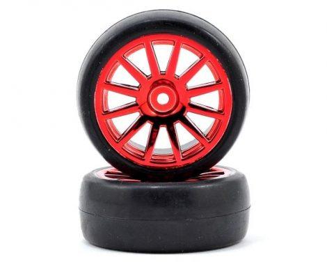 Rally komplett kerék piros