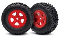 SST komplett kerék piros 1pár