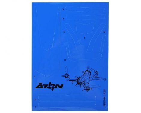 Matrica kék