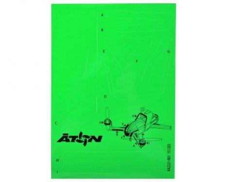 Matrica zöld