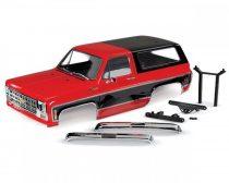 Traxxas Chevrolet Blazer 1979 Karosszéria komplett-piros-fekete