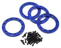 Traxxas Beadlock gyűrű szett alu - kék