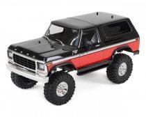 Traxxas TRX-4 1979er Ford Bronco-piros-fekete