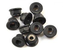 Traxxas kerékanya 4mm- fekete