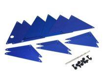 Traxxas UDR alváz alkatrész alu  kék