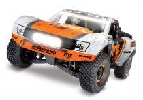 Traxxas Unlimited Desert Racer FOX Edition-világítással
