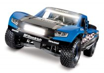 Traxxas Unlimited Desert Racer -kék--világítással